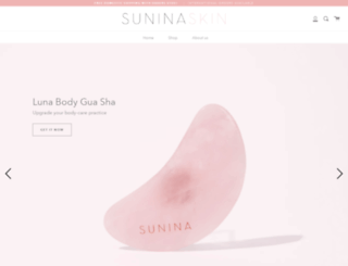 sunina.com screenshot