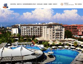 sunishotels.com screenshot