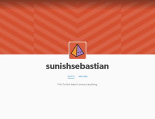 sunishsebastian.tumblr.com screenshot