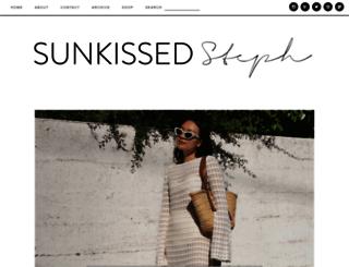 sunkissedsteph.com screenshot