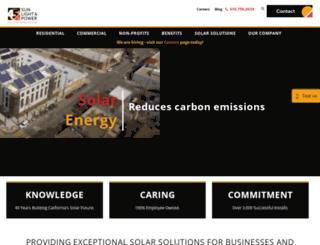 sunlightandpower.com screenshot