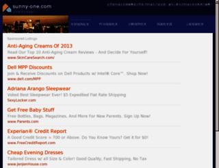 sunny-one.com screenshot