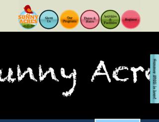 sunnyacresdaycamp.com screenshot