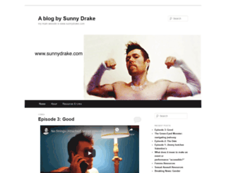 sunnydrake.wordpress.com screenshot