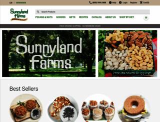 sunnylandfarms.com screenshot