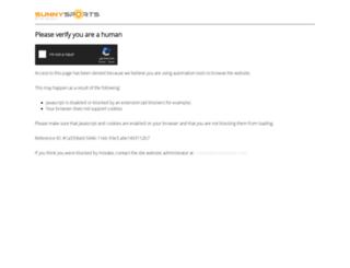 sunnysports.com screenshot