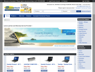 sunnytechusa.com screenshot