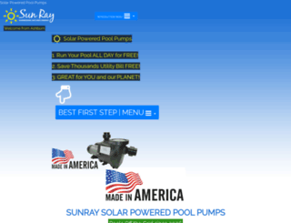 sunrayus.com screenshot
