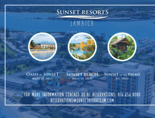 sunsetresortsjamaica.com screenshot