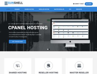 sunshell.net screenshot