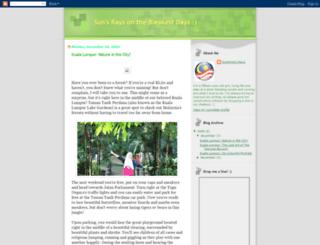 sunshinestatesofmalaysia.blogspot.com screenshot