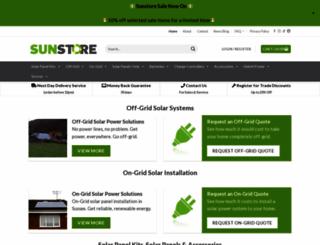 sunstore.co.uk screenshot