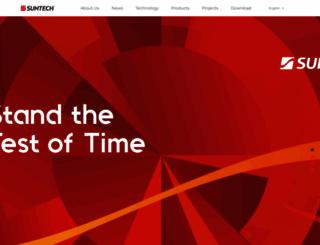 suntech-power.com screenshot