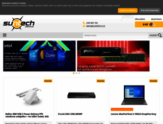 suntech.cz screenshot