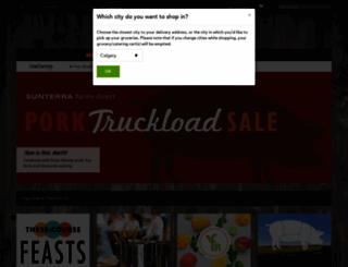 sunterramarket.com screenshot