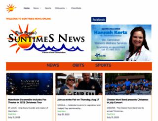 suntimesnews.com screenshot