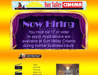 sunvalleycinema.com screenshot