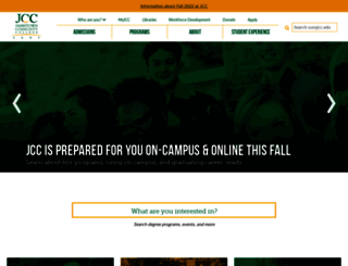 sunyjcc.edu screenshot