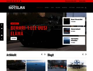 suomensotilas.fi screenshot