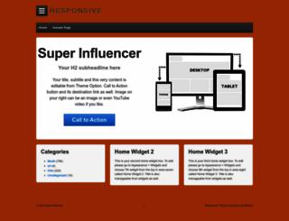 super-influencer.com screenshot