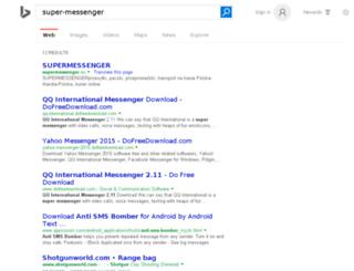 super-messenger.fr screenshot