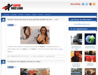 superbuzzland.com screenshot