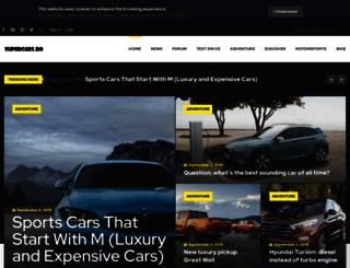 supercars.ro screenshot