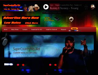 supercountryhits.com screenshot