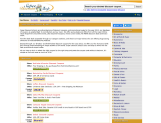 superdiscountshop.com screenshot