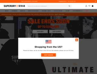 superdrystore.com screenshot