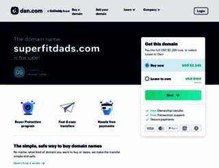 superfitdads.com screenshot