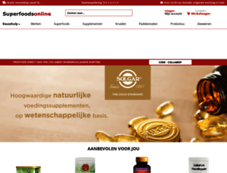 superfoodsonline.nl screenshot