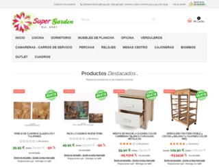 supergarden.es screenshot