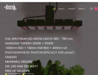 supergrowled.com screenshot