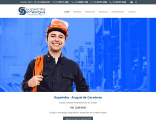 superinfra.com.br screenshot
