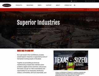 superior-ind.com screenshot