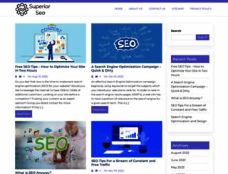 superior-seo.net screenshot