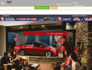 superiortoyota.com screenshot