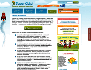 superkid.pl screenshot