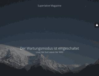 superlative-magazine.de screenshot
