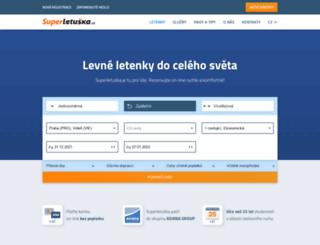 superletuska.cz screenshot
