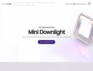 superlight.com.au screenshot