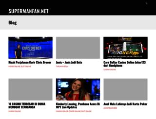 supermanfan.net screenshot