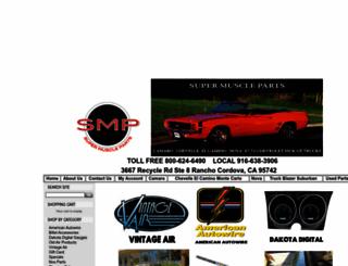 supermuscleparts.com screenshot