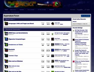 supernature-forum.de screenshot