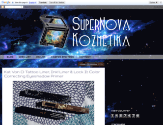 supernovakozmetika.blogspot.rs screenshot