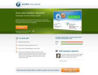 superovladac.cz screenshot