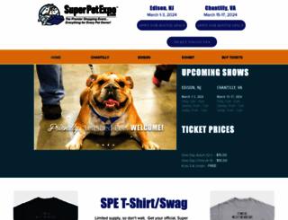 superpetexpo.com screenshot