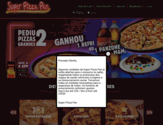 superpizzapan.com.br screenshot