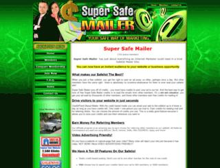 supersafemailer.com screenshot